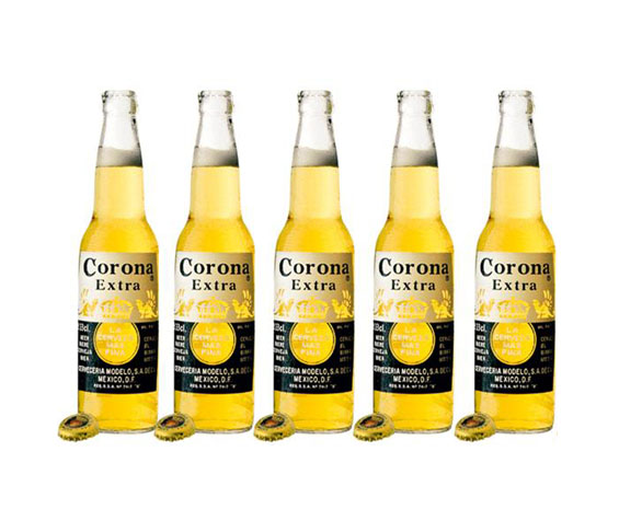 เบียร์ Corona โคโรน่าเบียร์ แพคเกจ 6 ขวด