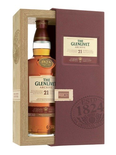 The Glenlivet 21 Years of Age