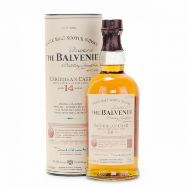 The Balvenie 14 Years Caribbean Cask