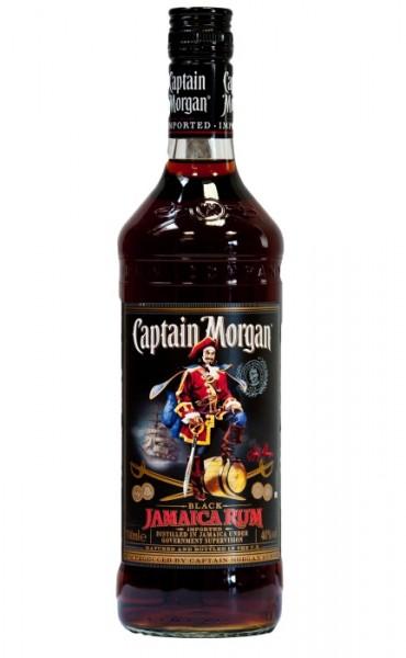 Caption Morgan Black Spiced Rum