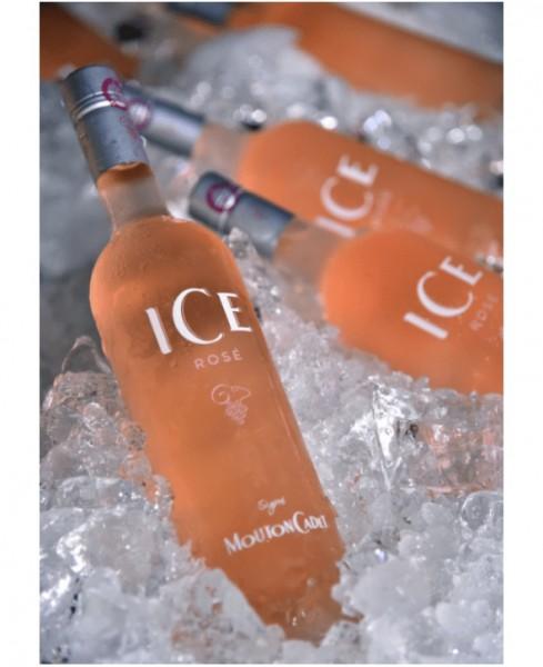 Mouton Cardet Ice Rose (ผสมน้ำแข็งทานได้เลย)