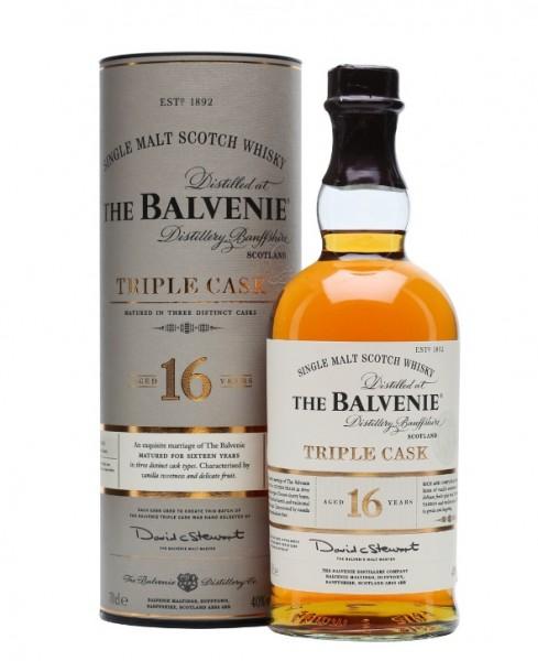 The Balvenie 16 year Triple Cask